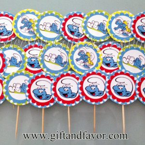 Toothpick Cupcake Toppers