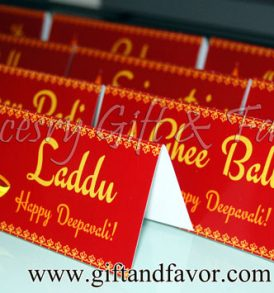 Personalized menu cards